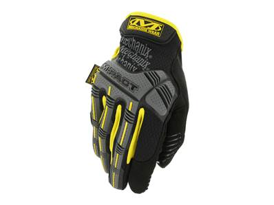 Mechanix Gloves M-PACT BK/Yellow Size M MPT-01-009