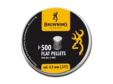 Browning 4.5 mm /.177 Pellets (x 500)